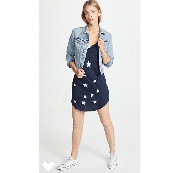 bff99e7d33cab Pam & Gela Dresses | Pam And Gela Navy Star Print Tank Dress | Poshmark